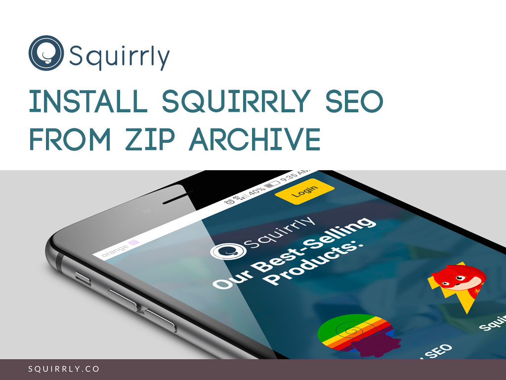 Install Squirrly SEO 1
