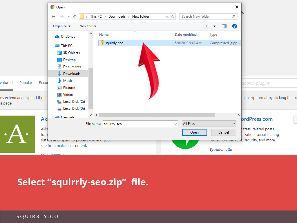 Install Squirrly SEO 5