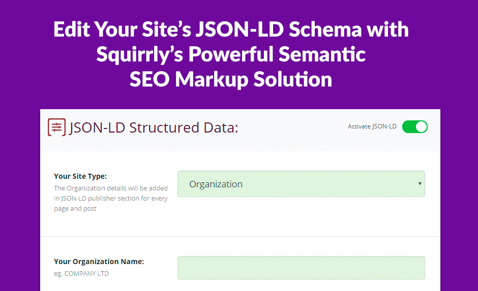 JSON-LD Schema For Your Site